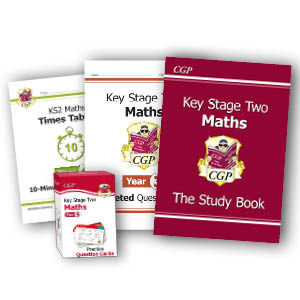 CGP's Primary Yearly books for KS1 and KS2 Maths