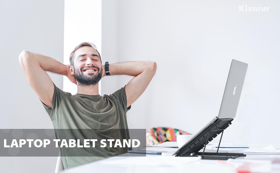 Laptop Cooling Rack Adjustable Height Shelf Wcxxhy Laptop Stand Desktop Tablet Holder