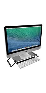 Smokey Gray Laptop Stand