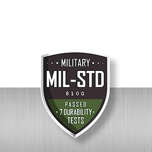 米国国防総省の厳しい耐久性試験をクリア