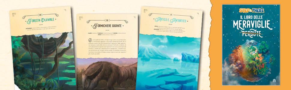 Stef & Phere, two players one console, tpoc, libro delle meraviglie perdute,
