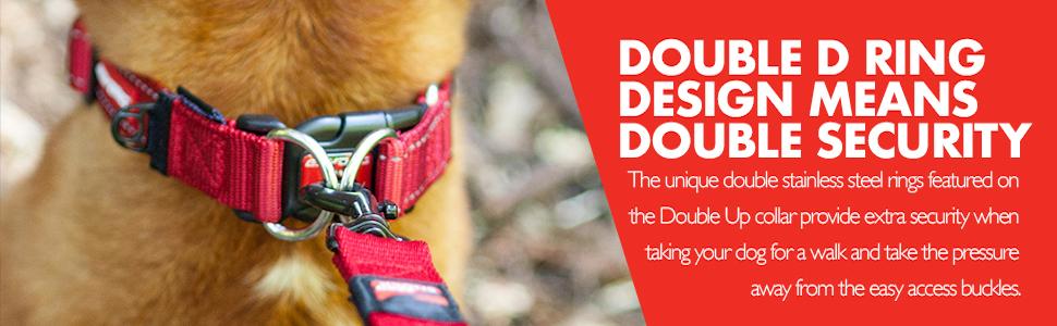 EzyDog Double Up Dog Collar