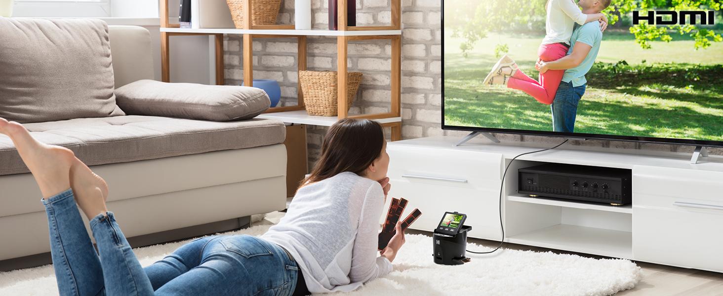 HDMI TV output
