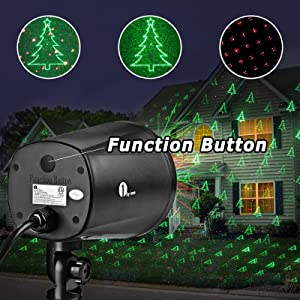 onebyone easy operated christmas laser light