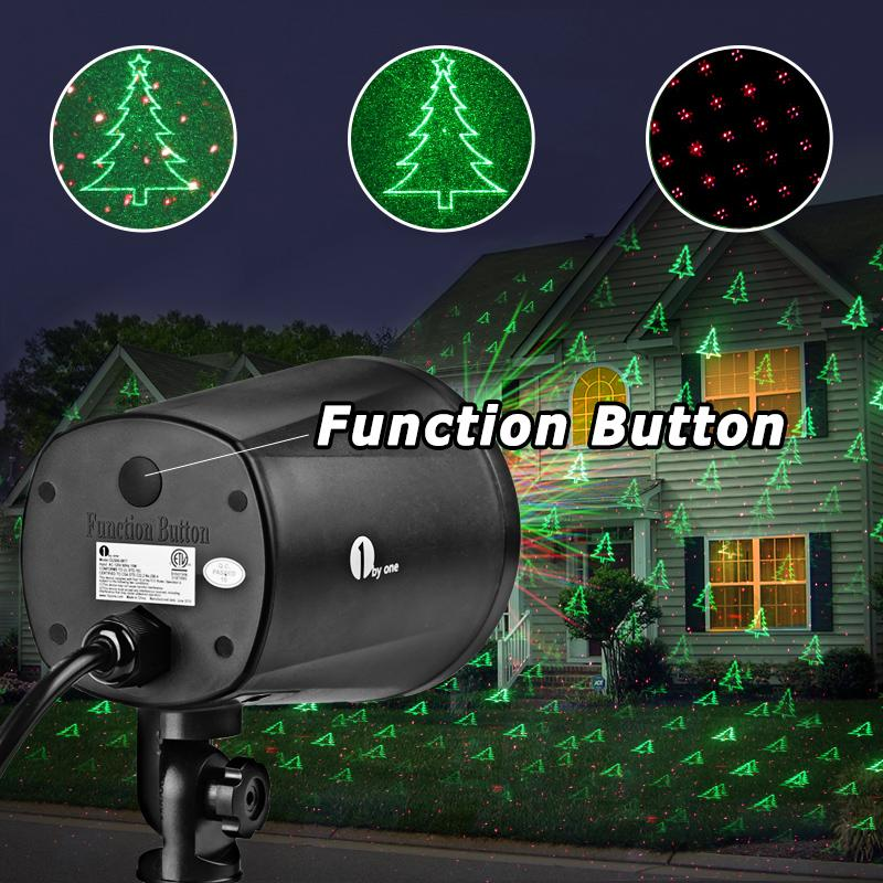 Reject Shop Laser Christmas Lights: Amazon.com: 1byone Christmas Laser Lights With Green