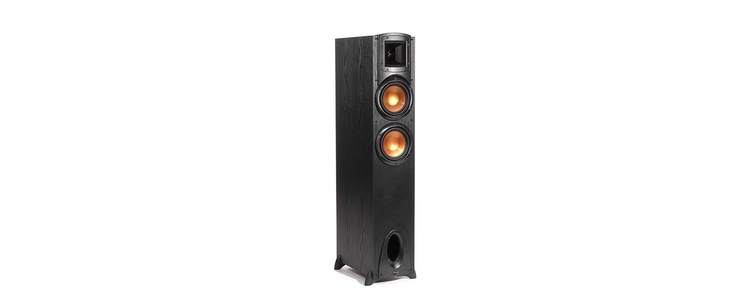 Synergy Black Label, F-200 Floorstanding Speakers, Klipsch