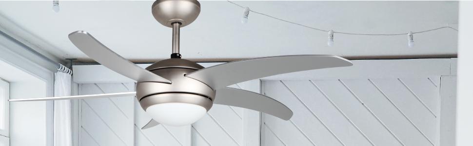 Orbegozo CP 53132 A Ventilador de techo con luz y mando a ...