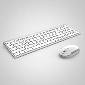 1a8f46a212a Amazon.com: iClever GK03 Wireless Keyboard and Mouse Combo - 2.4G ...