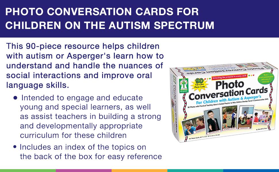 Key Education Photographic Conversation Cards products description