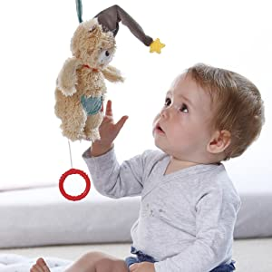 Fehn Bruno Spieluhr Baby Bär Musik Schlafen Einschlafhilfe