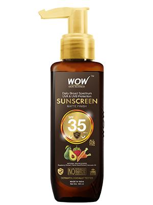WOW Skin Science Sunscreen SPF 35 PA++