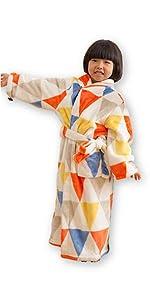 モフア 着る毛布 子供用 キッズ ミニサイズ