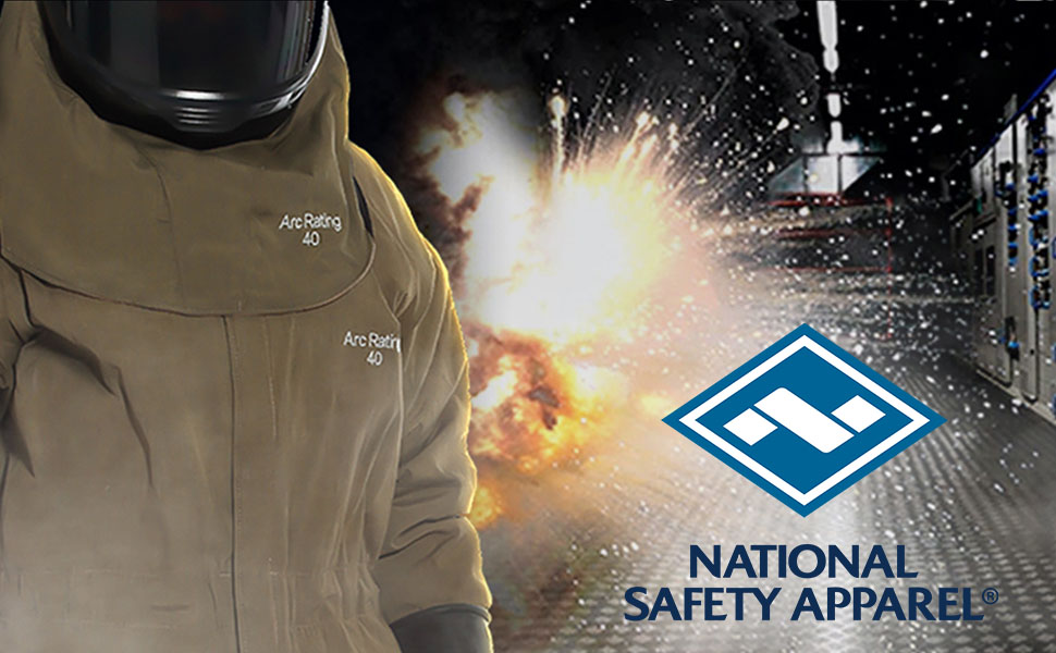 national safety apparel, nsa, arc flash, fr clothing, safety apparel, flame resistant