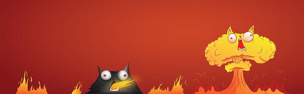 Exploding Kittens- Juego de cartas (EKEK0001): Amazon.es: Juguetes ...