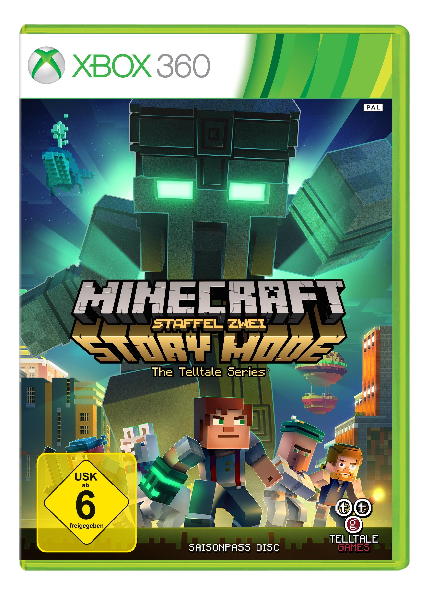 Minecraft Story Mode Season Season Pass Disc Xbox Amazon - Minecraft ahnliche spiele fur xbox 360