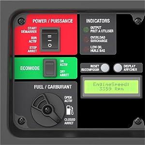 eZV3200P, energizer, display, hour meter, generator, inverter
