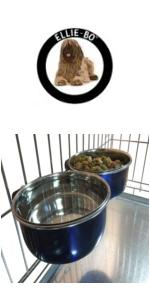 dog, cage, crate, dog bed, puppy, training, ellie-bo, ellie bo, dog bowl, cage bowl, food bowl
