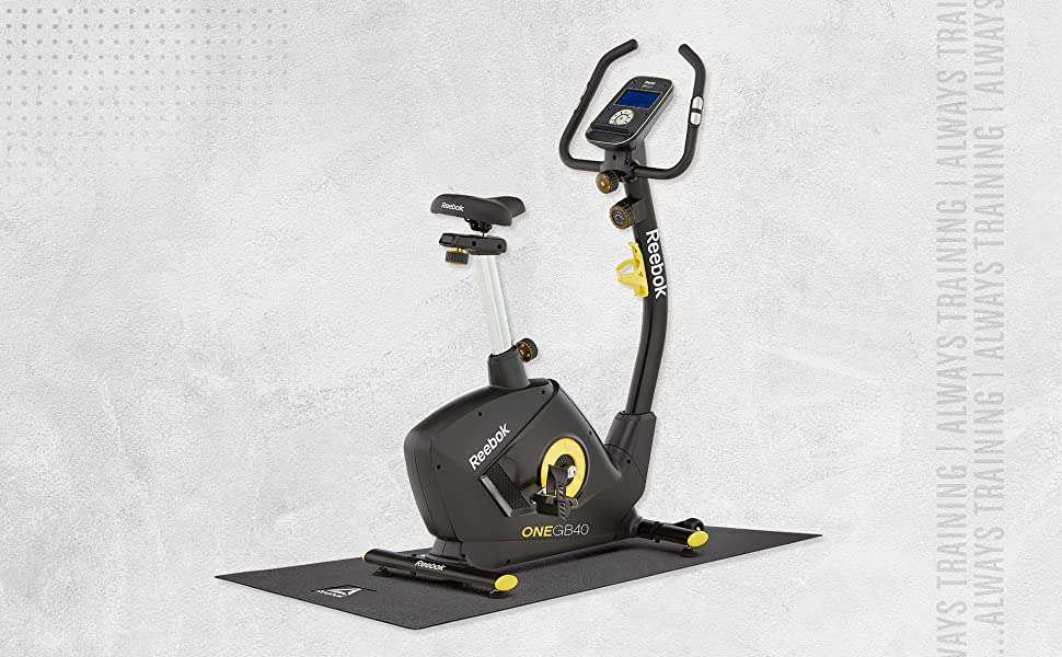 Reebok Alfombrilla de cardio - Bicicleta, Bicicleta Elíptica y Cinta de correr: Amazon.es: Deportes y aire libre