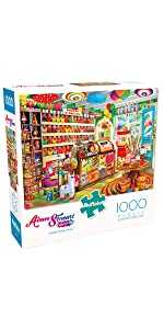 Corner Candy Store - 1000 Piece Jigsaw Puzzle