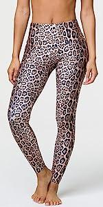 onzie, high rise legging, leopard