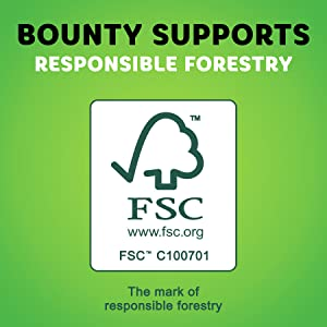 Choose Bounty for a Sustainably Made Paper Towel