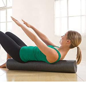 Yoga Foam Roller Massager Trigger Point  Arm Leg Tissue Muscle Fitness Workout