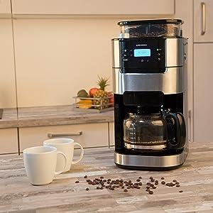El placer de un café de granos recién molidos