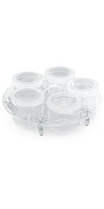 yogurt cups, yogurt maker, instant pot yogurt maker, instant pot accessories