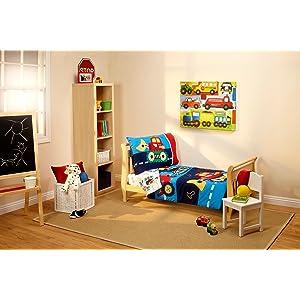 everything kids under 4pc toddler bed set