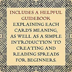 Includes a helpful guidebook explaining each card's meaning.