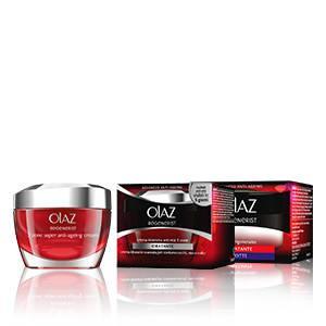Olaz - Crema Intensiva Anti-Età, 3 zone, Idratante - 50 ml..