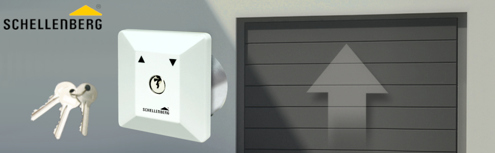 Gut gemocht Schellenberg 25102 Schlüsselschalter Unterputz: Amazon.de: Baumarkt DC58