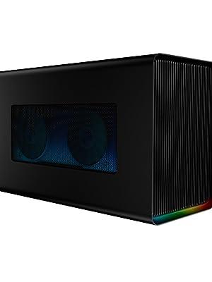 Razer Core X Chroma, eGPU Case, NVIDIA, Macintosh, AMD