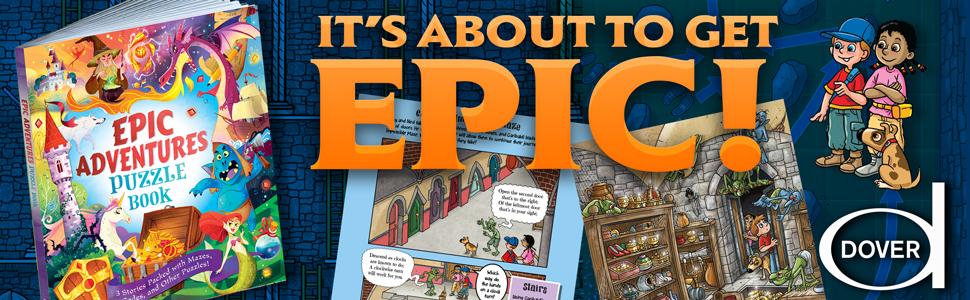 Epic Adventures Puzzle Book Moore Dr Gareth 9780486828510 Amazon Com Books