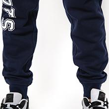 NFL Men's Jogger Pants Active Basic Fleece Sweatpants, Team Logo Dark