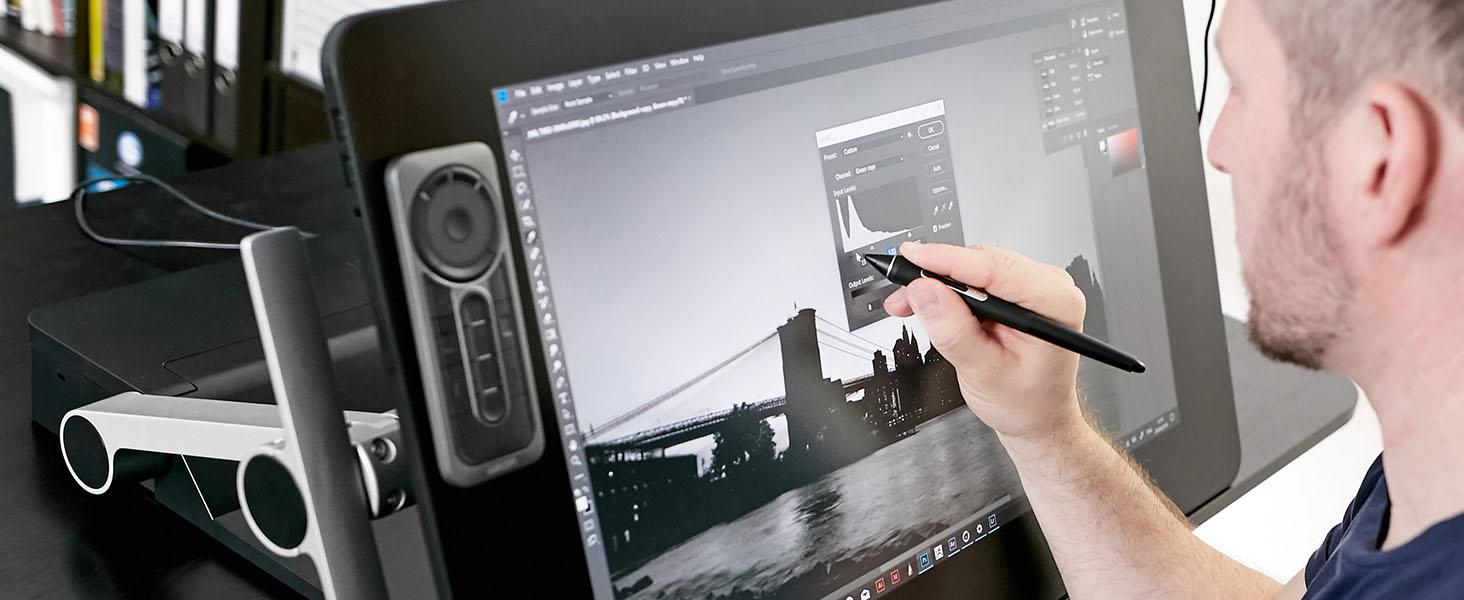 Wacom Cintiq, ekranlı çizim tableti, grafik çizim monitörü, çizim ekranı, Huion Kamvas