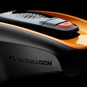 McCulloch 967059725 967059725-Robot cortacésped automático Rob R600, 600 m²