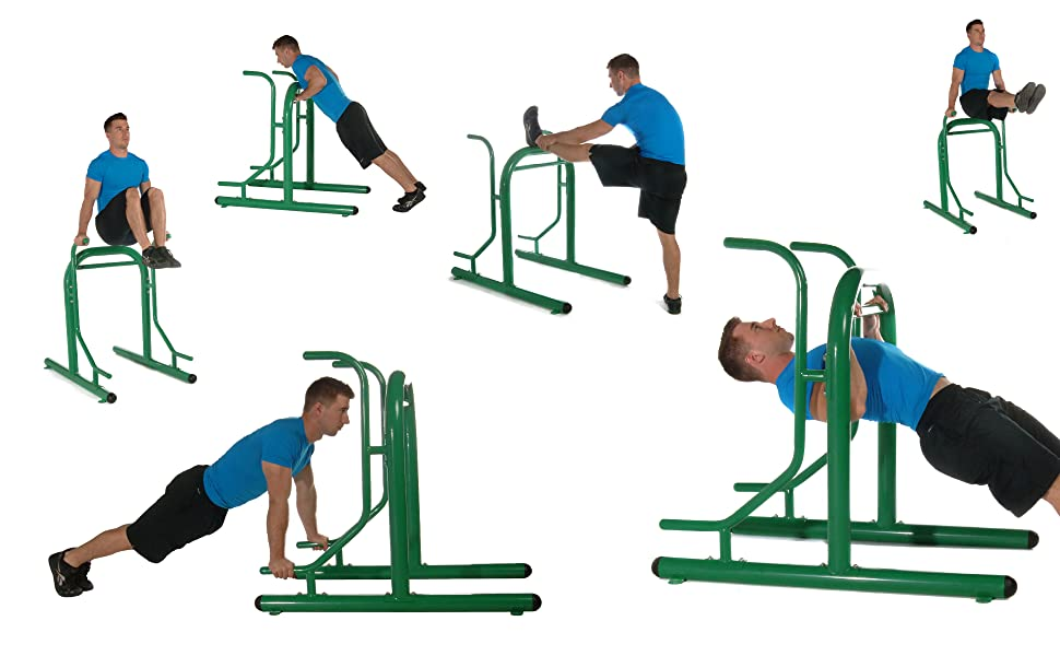 many possible exercises on one piece of equipment