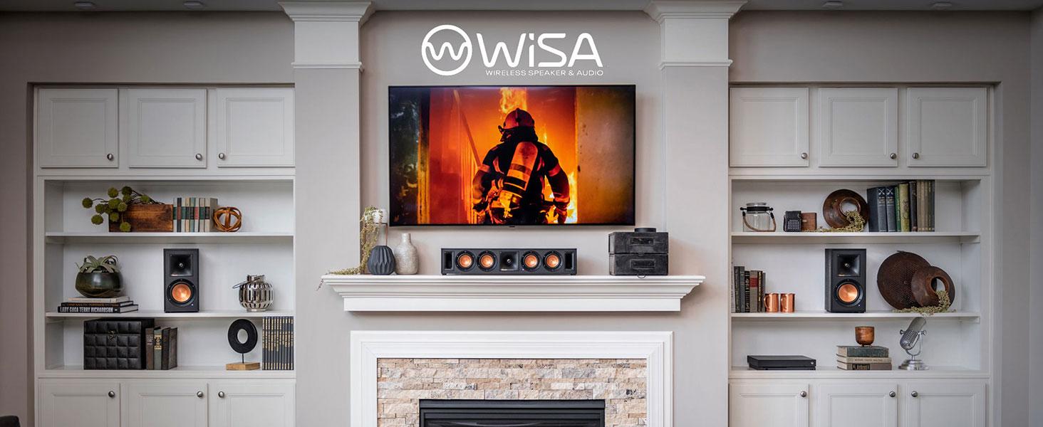 Reference Wireless, WiSA, Klipsch, home theater, wireless