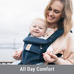 376ea0298c8 Amazon.com   Ergobaby Omni 360 All-in-One Ergonomic Baby Carrier ...