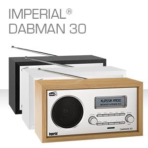 Imperial 22 130 00 Dabman 30 Digitalradio Dab Dab Ukw Aux In Inkl Netzteil Braun Heimkino Tv Video