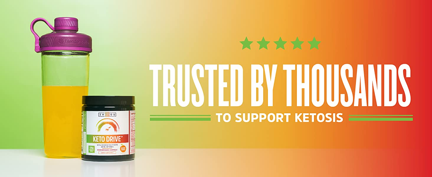 Trusted by thousands to support ketosis