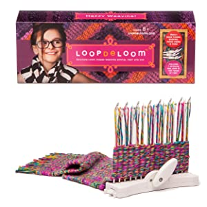 Amazon.com: Kit para tejer, LoopdeLooM: Toys & Games