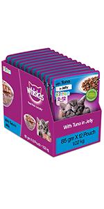 Whiskas wet Kitten Food
