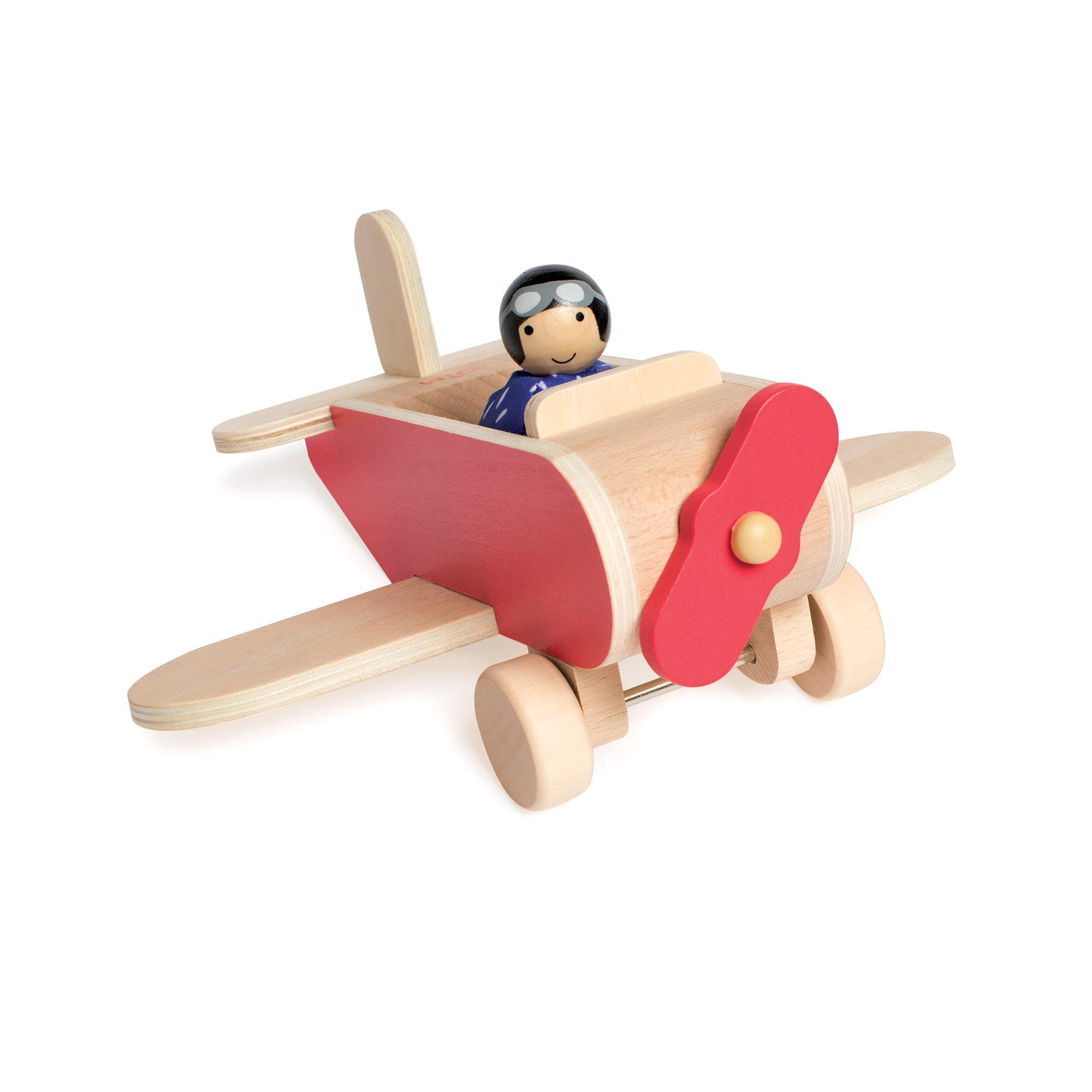 Manhattan Toy MIO Wooden Car + 2 People for MiO Modular ...