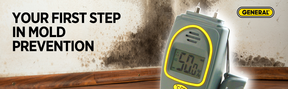 moisture meter, moisture detection, mold prevention, moisture tool, pinless moisture meter