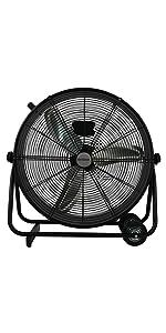metal fan, high velocity, industrial fan, commercial fan, household fan, warehouse, indoor gardening