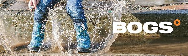 Bogs Kids Rainboots Rain Winter Insulated Warm Waterproof Garden
