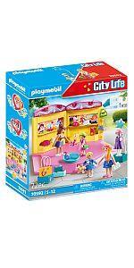 PLAYMOBIL City Life 70592 Tienda de Moda, Para niños de 5 a ...