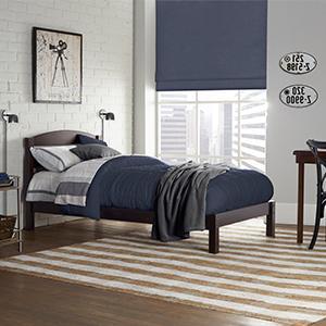 Amazon Com Dorel Living Braylon Twin Bed Espresso
